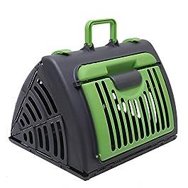 Pet Carrier Dog Puppy Kitten Rabbit Transport & Travel Cage