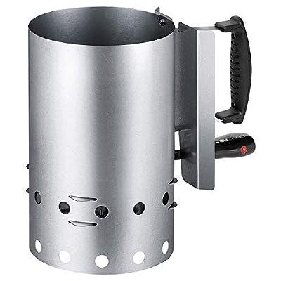 Clatronic EGA 3662 Elektrischer Grillanzünder für sauberen und schnellen Grillgenuss, Wärmeisolierter Griff