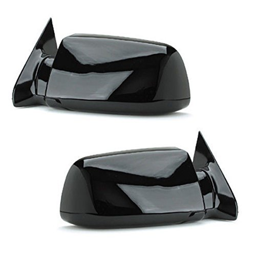 88 - 98 Chevrolet Silverado GMC Sierra Door Mirror Manual Black Pair Set Blazer Jimmy Suburban Tahoe Yukon Driver and Passenger by Not OEM