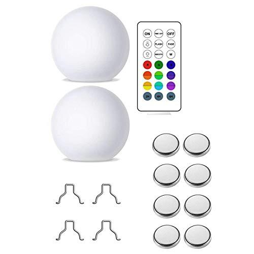 Totkakka Lámpara de Bola Luminosa LED Lámpara de Bola Flotante de Piscina Impermeable al Aire Libre