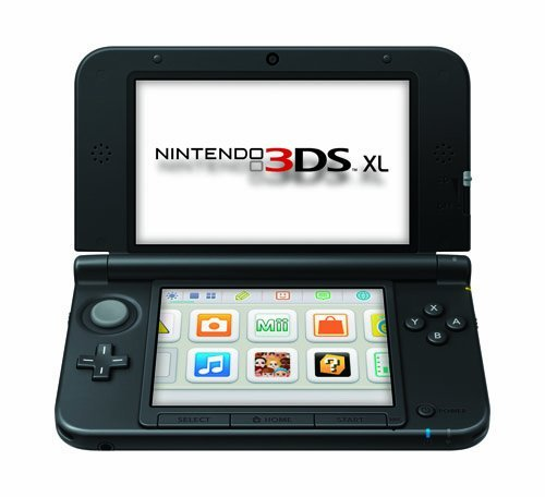 Nintendo 3DS XL - Black [Old Model] (Renewed)