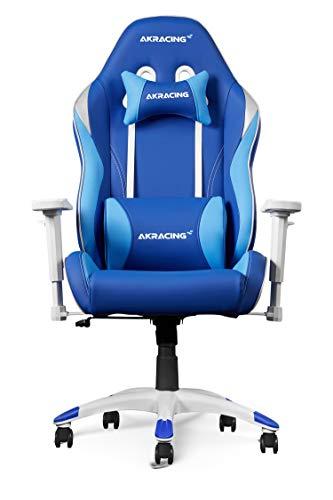 AKRACING Chair California Tahoe Gaming Stuhl, Kunstleder, Blau, 5 Jahre Herstellergarantie