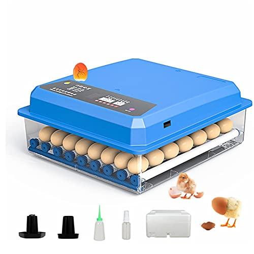 YAWEDA Incubadora Automática Huevos, Función LED Alta Eficiencia, Volteo Automático Huevos, Control Automático Temperatura Incubadoras Huevos Incubar Pollos, Patos, Gansos, Codorniz, Pájaro