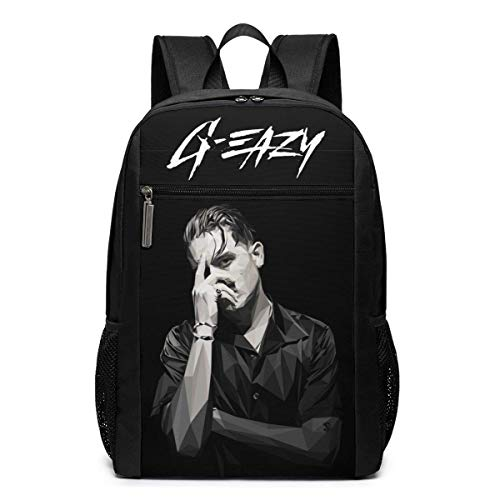 XCNGG G-Eazy Oversized Backpack 17 Inch Laptop Bag School Business Travel Unisex Casual Fashion