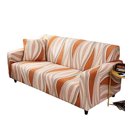 Runyue Sofa Überwürfe Sofabezug Elastische Couchbezug Stretch Sofa Abdeckung Stil22 1 Sitzer/90-140cm
