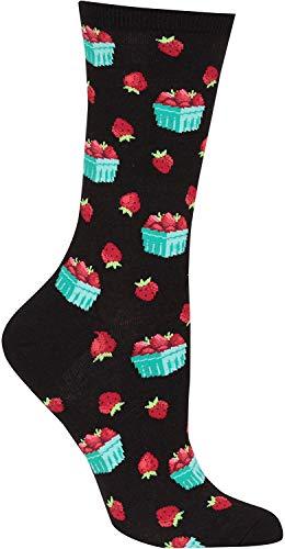 SLA-T Modisch Hot Sox Damen Strawberry Pint Socken