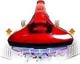 Qianglin Instrumento de eliminación de ácaros del hogar, Ritmo Ultravioleta, succión Grande, sofá de Dormitorio de Mano para Eliminar el Polvo y esterilizar