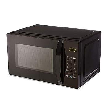 Amazon Basics Microwave Small 0.7 Cu Ft 700W Works with Alexa