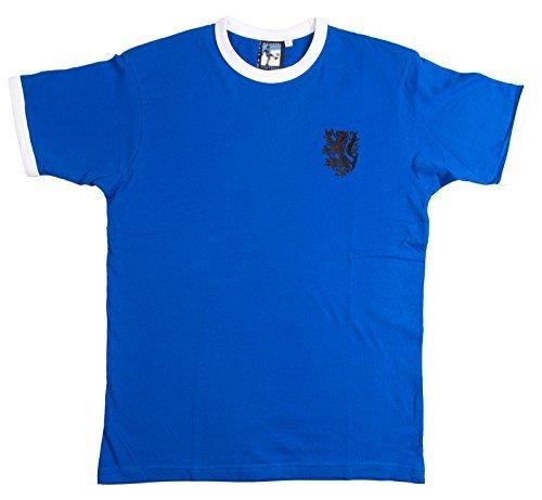 Retro Holanda 1970s Fútbol Visitante camiseta nueva tallas S-XXL Logotipo Bordado -...