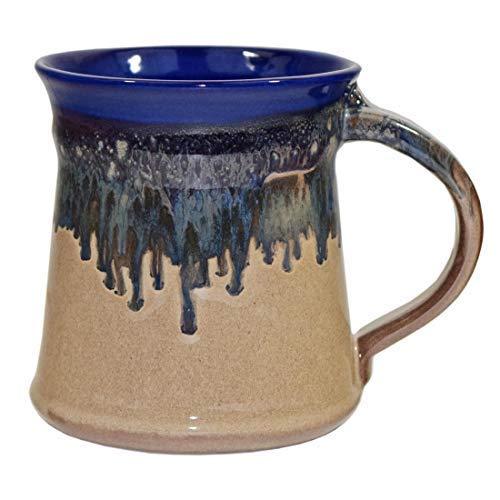 Clay in Motion Handmade Medium Mug (Cobalt Canyon)