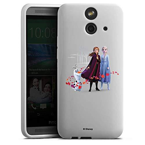 DeinDesign Silikon Hülle kompatibel mit HTC One E8 Case Schutzhülle Disney Fanartikel Frozen