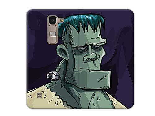 etuo Handyhülle für LG Spirit 4G LTE - Hülle, Handy Flip Case - Frankenstein