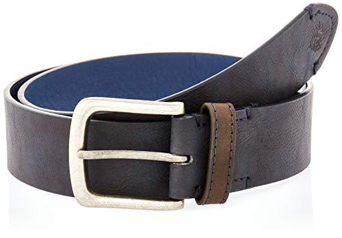 Springfield Cinturón básico Efecto Piel, Azul Oscuro, 85 para Hombre