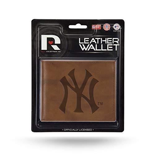 Unbekannt New York Yankees Offizielles MLB Leder Billfold Wallet