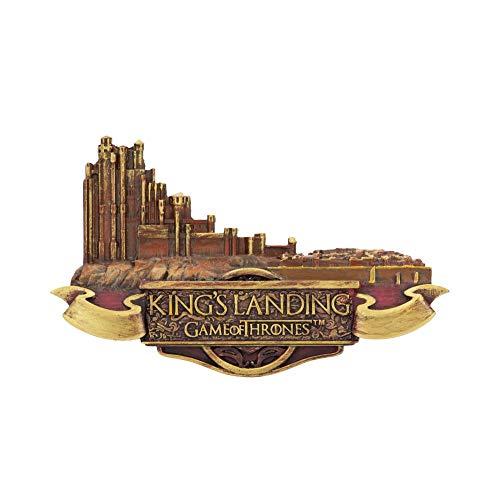 Nemesis Now Kings Landing Magnet Game of Thrones, Kunstharz, 10 cm, goldfarben