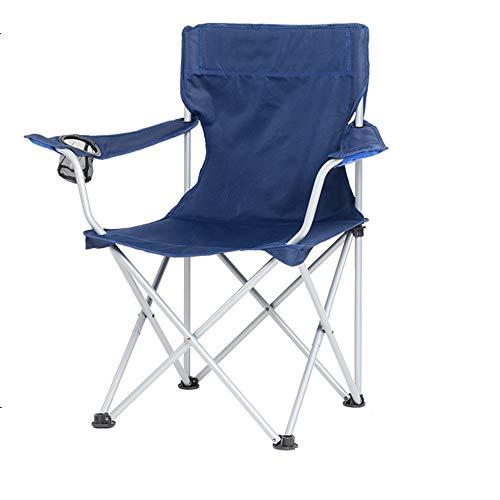 Klapstoel voor buiten, draagbare ultralichte stoel, draagvermogen 150 kg, geschikt voor kamperen, vissen, schetsen, ligstoel