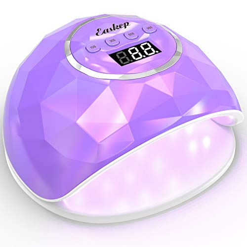 86W Fast Nail Dryer, Easkep UV LED Light Gel Nail Polish Curing Lamp for Professional...