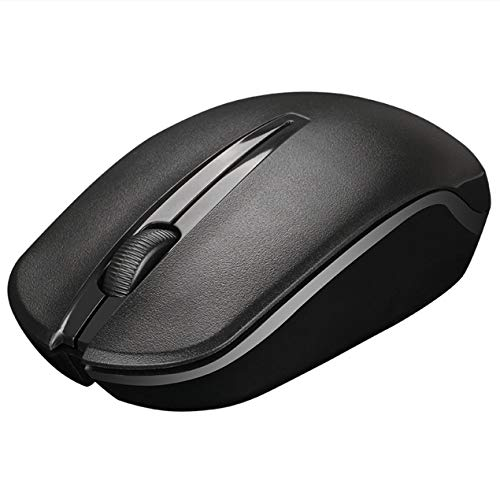 DBSUFV Mouse Wireless 2.4G Office Business Notebook Desktop Mouse Universale Senza Fili Ricaricabile a Basso Rumore