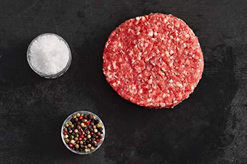 Irisches Salzwiesenlamm Lamm Burgers Patties Freilandhaltung 6 x 150g 4 Inch (ca.10cm)