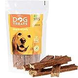 Bastoncini di Manzo Carne Bovina per Cani Naturale Digeribile 6 Pollici Bastone Masticare per Domestici (5 Pezzi)