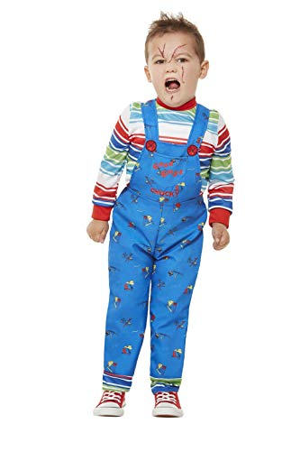 Chucky Toddler Fancy Dress Costume (Toddler - Age 3-4 years)