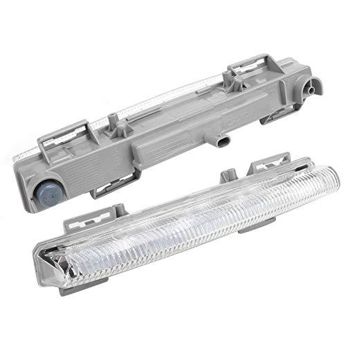 Luz diurna LED DRL, luces de circulación diurna ABS, Mercedes-Benz R172 para Mercedes-Benz W204 Mercedes-Benz W212(Right light)
