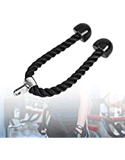 Tricep Rope Pull Down Heavy Duty Nylon Bicep Rope Gym Cable Machine Attachments voor Multi Gym Cable Machine Attachment