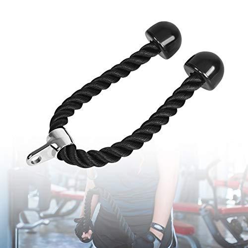 Cuerda Tríceps, Cuerda para Entrenamiento Trabajos Pesados para Conexión de Máquina de Cable de Gimnasio Múltiple