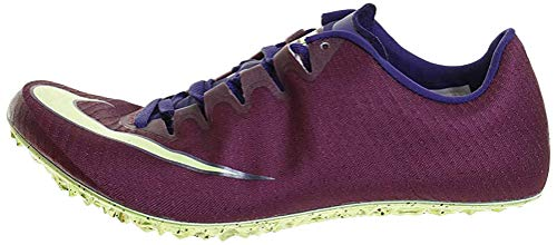 Nike Zoom Superfly Elite, Zapatillas de Atletismo Unisex Adulto, Multicolor (Bordeaux/Lime Blast/Regency Purple 600), 38.5 EU