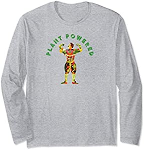 Plant Powered Vegetarian Long Sleeve T-Shirt
