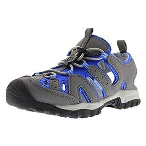 Northside Burke II Athletic Sandal Gray/Blue 10 M US Toddler
