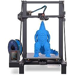 LONGER LK5 Pro Stampante 3D, al 90% Pre-Assemblato, Vetro Reticolare, Scheda Madre Silenziosa, Open Source, Grande Formato di Stampa 300x300x400mm