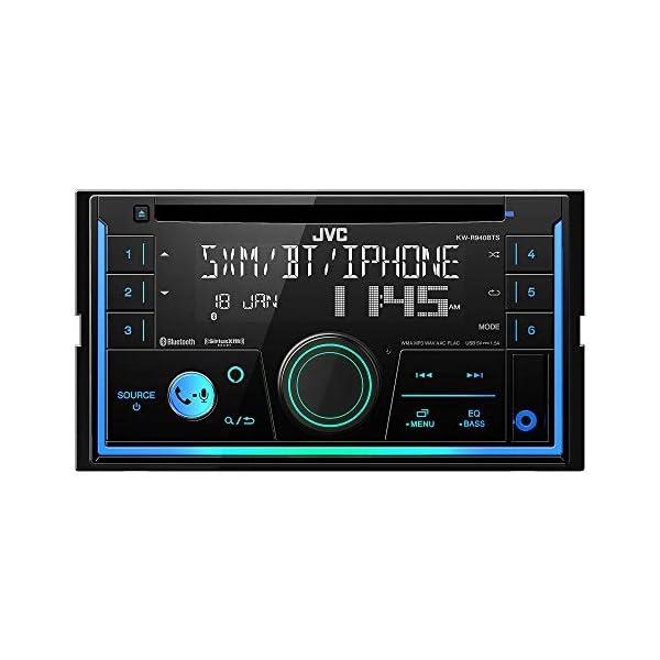 JVC KWR940 / KWR940BTS / KWR940BTS Double DIN CD Receiver with Bluetooth 3