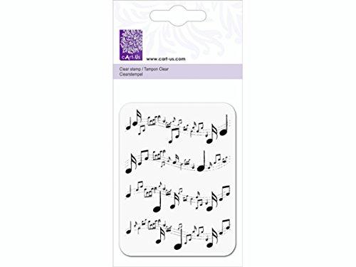 c'Art-us Golftrolley/Noten-Stempel, transparent