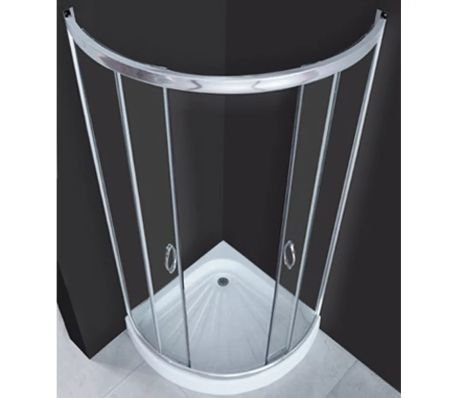 Cabina de ducha redonda ducha cuarto circular (80 x 80 x 194 cm ...