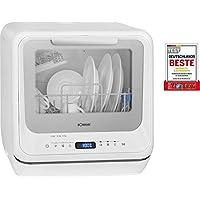 Bomann TSG 7402-Lavavajillas Mini, Color Blanco, 43.5 x 42 x 43.5 cm