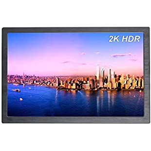 Gaming Portable Monitor Mini HDR 10.1 inch 2K 2560×1600 IPS HDMI USB Powered Display Screen for XboxONES PS4 Xbox360 Raspberry Pi PC:Iracematravel