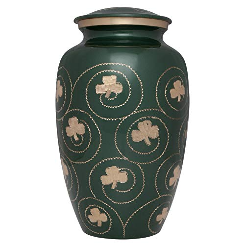 Ansons Shamrock Cremation Urn
