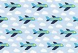 kukido Westfalenstoffe * Junge Linie * Flugzeuge 0,5m *