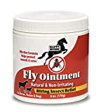Happy Horse Fly Relief Ointment for Horses, Ponies, and Dogs, with Plant Based Active Ingredients- 6oz