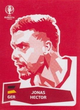Panini UEFA EURO 2016 France - Jonas Hector (Coca Cola Sticker)