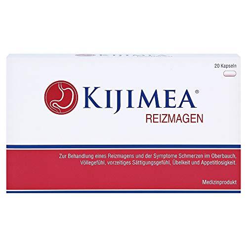 Kijimea Reizmagen - Zur Behandlung eines Reizmagens (Magenschmerzen, Völlegefühl, vorzeitiges Sättigungsgefühl, Übelkeit, Appetitlosigkeit) - vegan, glutenfrei, laktosefrei - 20 Kapseln