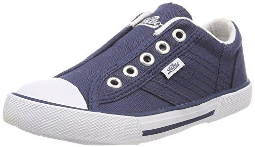 Lico Mädchen Conny Slip On Sneaker, Blau (Marine), 32 EU