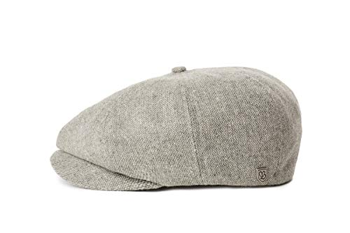 BRIXTON Unisex-Adult Brood LW SNAP Baseball Cap, Grey/Black, M