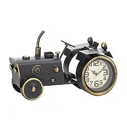 Accent Plus Vintage Tractor Desk Clock 12.25x4x7.5