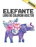 Elefante Libro de Colorear Adultos: Libro de...
