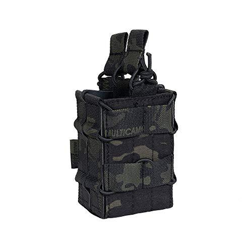 EXCELLENT ELITE SPANKER Tactical Molle Simple/Doble Bolsa magnética Abierta para M4 M14 M16 AR15 G36 Revista
