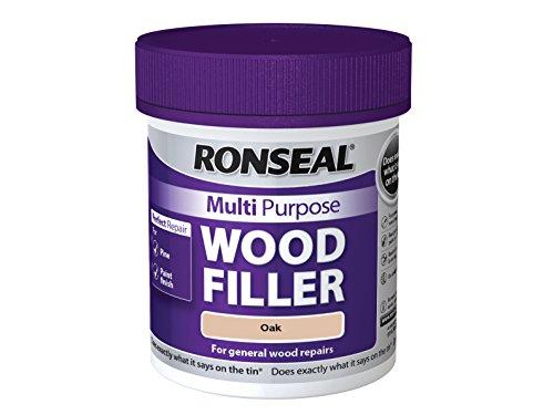 Ronseal MPWFO250G 250 g Multi-Purpose Wood Filler Tub - Oak