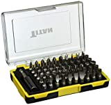 Titan 16061 61-Piece Screwdriver and Security Bit Set