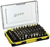 Titan 16061 61-Piece Screwdriver and Security Bit Set